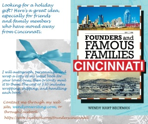 A holiday gift idea for lovers of Cincinnati!